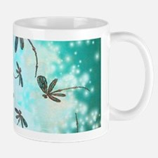 Dragonfly Glow Tree Mugs