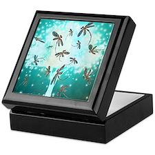 Dragonfly Glow Tree Keepsake Box