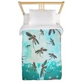 Dragonfly tree Twin Duvet Covers