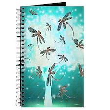 Dragonfly Glow Tree Journal