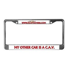 CAV License Plate Frame
