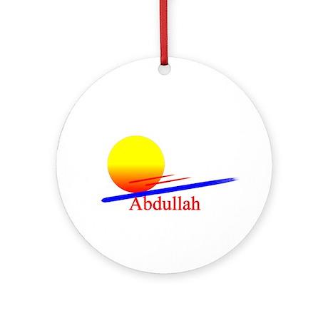 Abdullah Ornament (Round)