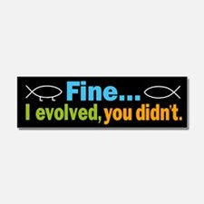 Cute Creationism Car Magnet 10 x 3