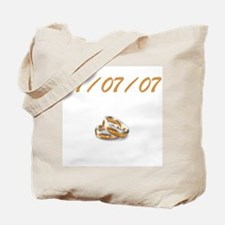 July 7th Wedding Tote Bag