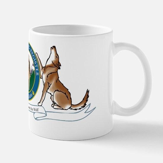 Tamaskan Dog Register Logo Mug