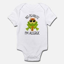 Peanut Allergy Awareness Body Suit
