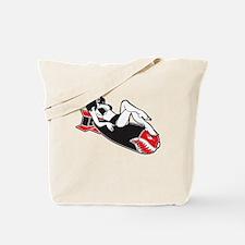 Bomber Girl Tote Bag