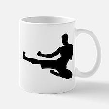 Karate jump kick Mug