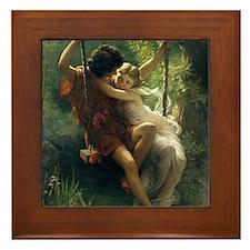 Spring of Pierre Auguste Cot Framed Tile