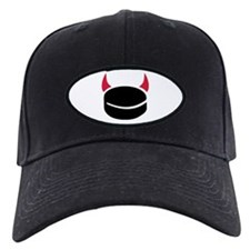 Hockey devil puck Baseball Hat