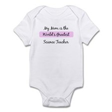 Worlds Greatest Science Teach Infant Bodysuit