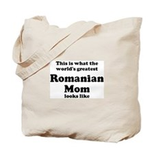 Romanian mom Tote Bag