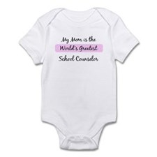 Worlds Greatest School Counse Infant Bodysuit