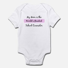 Worlds Greatest School Counse Infant Bodysuit