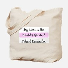 Worlds Greatest School Counse Tote Bag