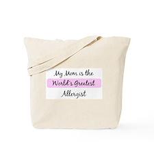Worlds Greatest Allergist Tote Bag