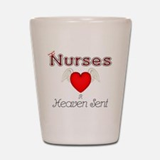 Angel Nurse Shot Glass