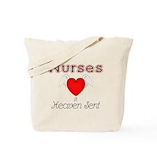 Angel Nurse Tote Bag