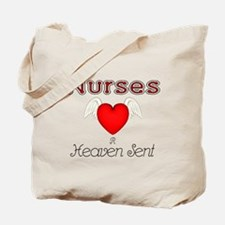 Angel Nurse Tote Bag