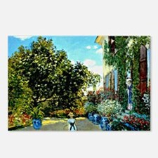 Monet - The Artist's Hous Postcards (Package of 8)