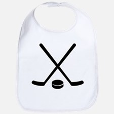 Hockey sticks puck Bib