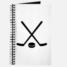 Hockey sticks puck Journal