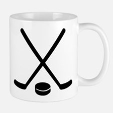 Hockey sticks puck Mug