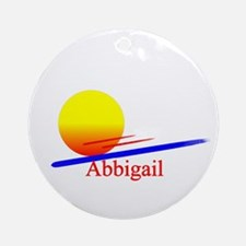 Abbigail Ornament (Round)