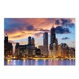 Chicago skyline Postcards