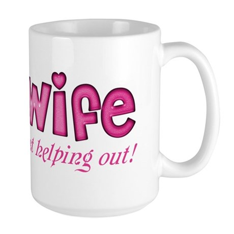 Just Help Out with this Large Mug