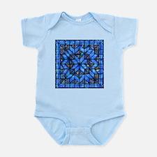 Blue Paisley Quilt Body Suit