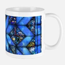 Blue Paisley Quilt Mugs
