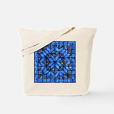 Blue Paisley Quilt Tote Bag