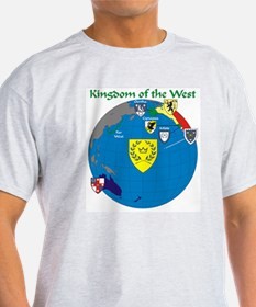 West Kingdom from Space T-Shirt
