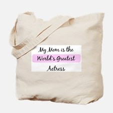 Worlds Greatest Actress Tote Bag