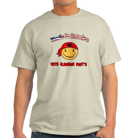Made in America with Albanian Light T-Shirt