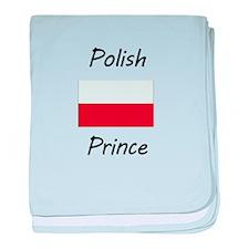 Polish Prince baby blanket