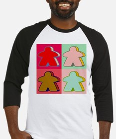 Pop Art Meeple Baseball Jersey