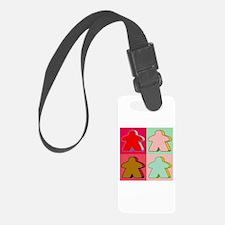 Pop Art Meeple Luggage Tag