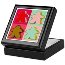 Pop Art Meeple Keepsake Box