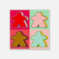 Pop Art Meeple Sticker