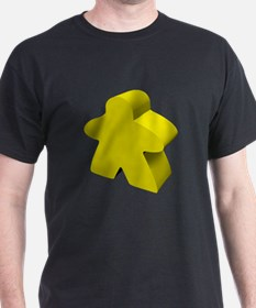 Yellow Meeple T-Shirt