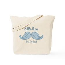 Mustache LM Apr Tote Bag