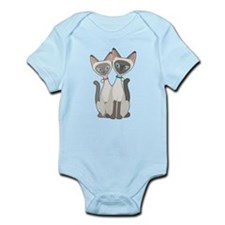 Siamese Cats Infant Bodysuit