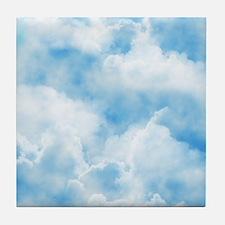 Clouds Tile Coaster