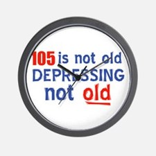 105 year old designs Wall Clock