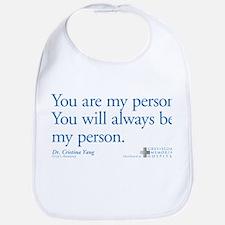 You Are My Person Bib