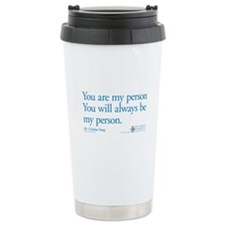 You Are My Person Stainless Steel Travel Mug