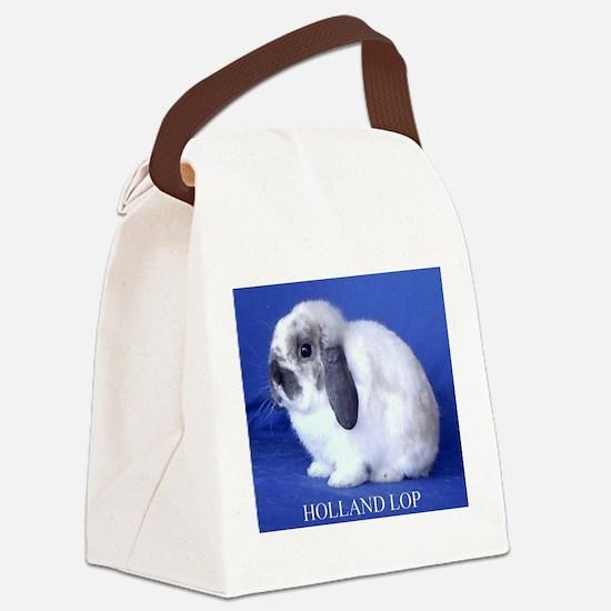Holland Lop Rabbit.jpg Canvas Lunch Bag