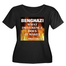 Benghazi What Difference Does It Make? Plus Size T